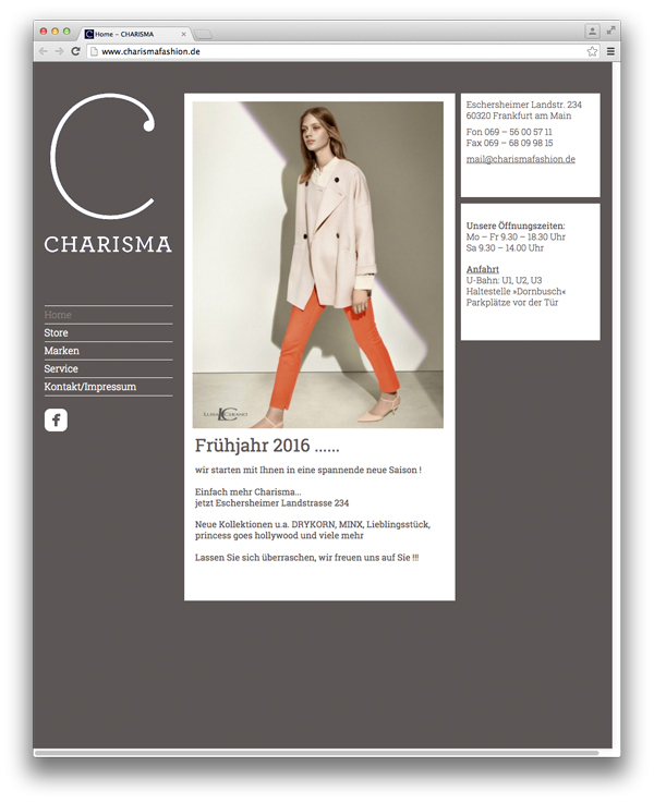 Lola Hahn Grafikdesign Charisma fashion