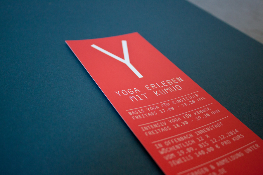 Lola Hahn graphic design Yoga YAM